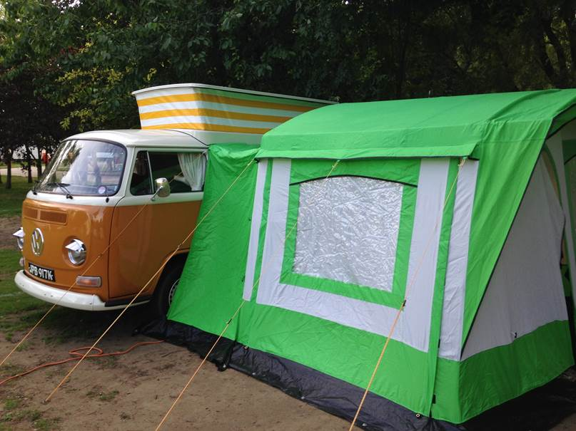 vw campervan derbyshire