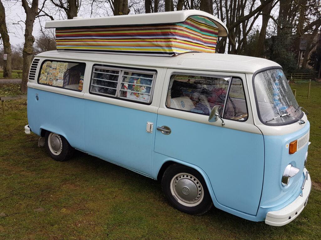 vw campervan Bertie from Anne's Vans