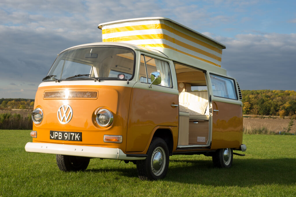 vw T2 Bay campervan Betty from Anne's Vans