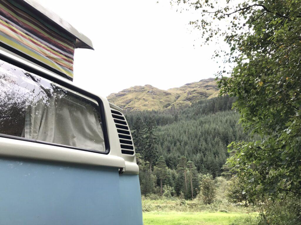 vw campervan scotland