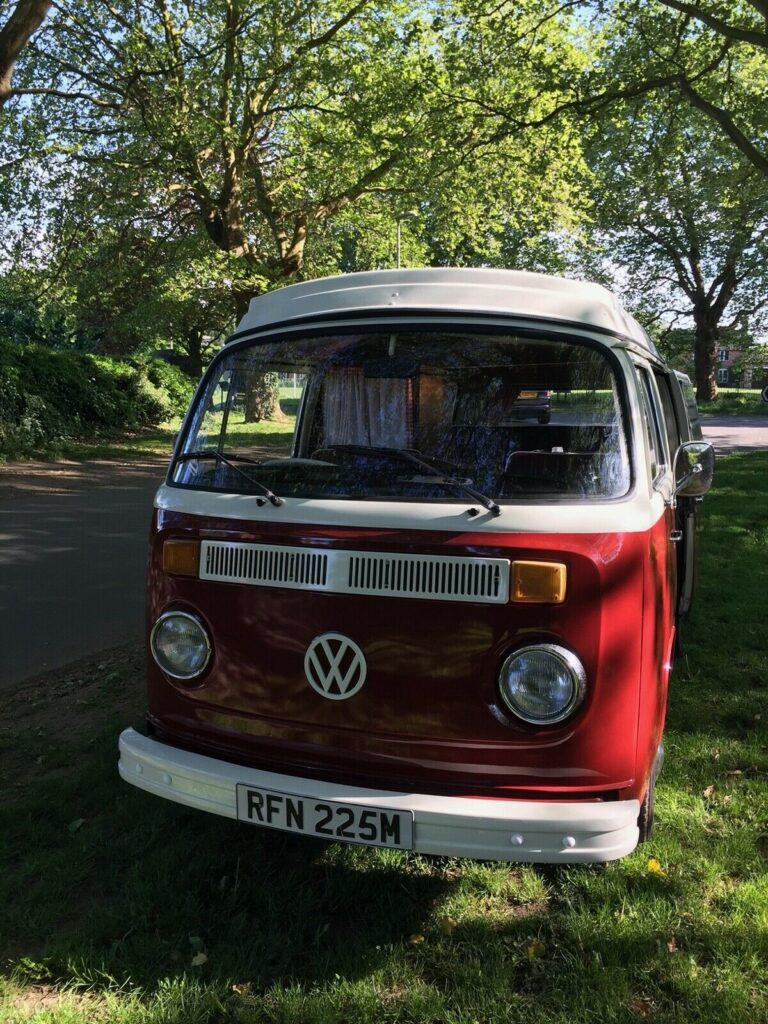 our VW T2 Westie Ruby